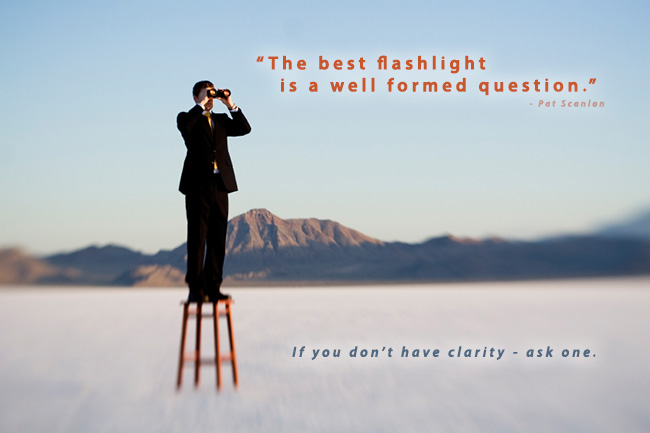 [LEADERSHIPMINIT] The ONE thing that is needed most - clarity